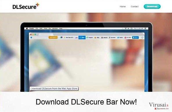 DLSecure ekrano nuotrauka