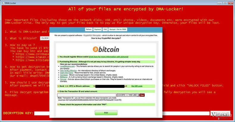 DMA Locker virus