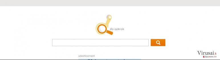 Do-search ekrano nuotrauka