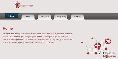 DragonCoupon ekrano nuotrauka
