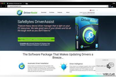 Driver Assist oficialus puslapis