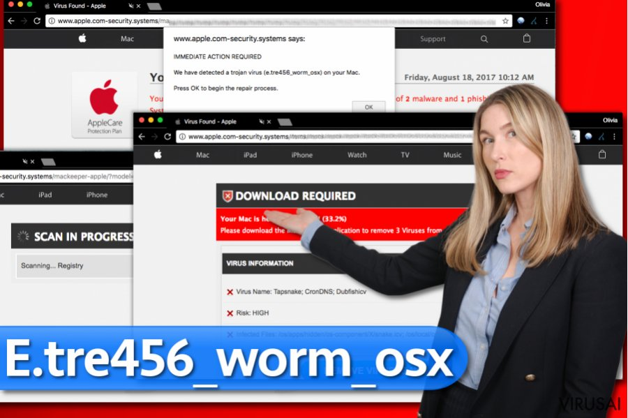 E.tre456_worm_osx viruso nuotrauka