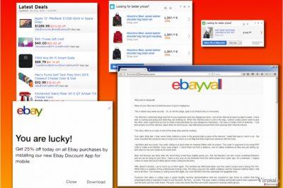 eBay virusų įvairovė