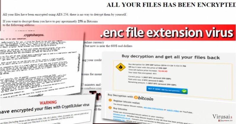 .enc failo plėtinio viruso pavyzdys