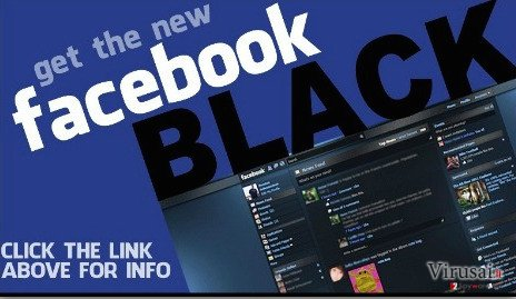 Facebook Change Color virus ekrano nuotrauka