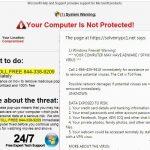 """""""Firewall Warning"""" pranešimas ekrano nuotrauka"""