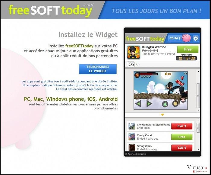 FreeSoftToday ekrano nuotrauka