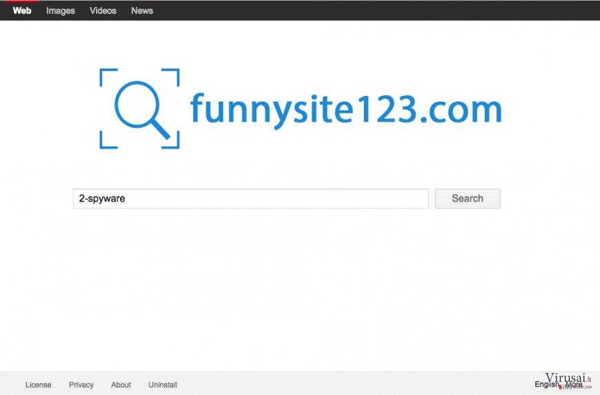 FunnySite123.com puslapis