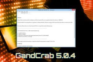 Gandcrab 5.0.4