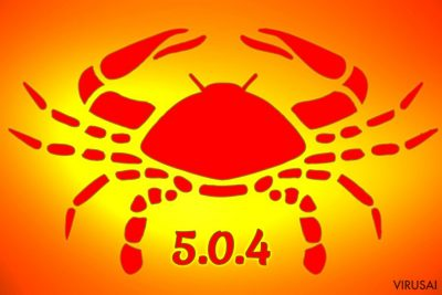 Gandcrab 5.0.4 virusas