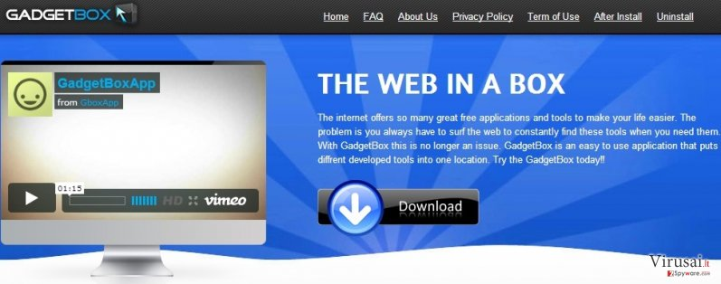 Gboxapp ekrano nuotrauka