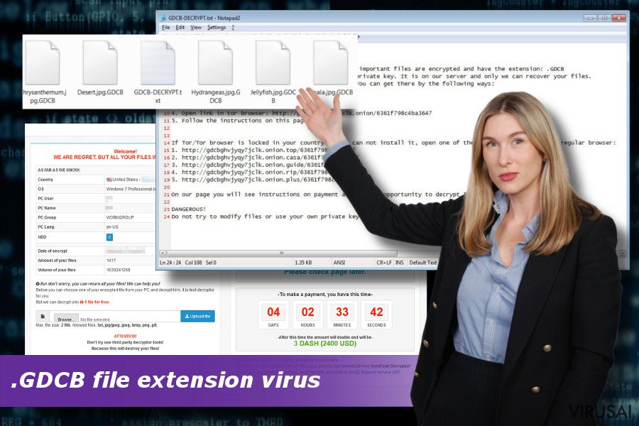 GDCB viruso ataka
