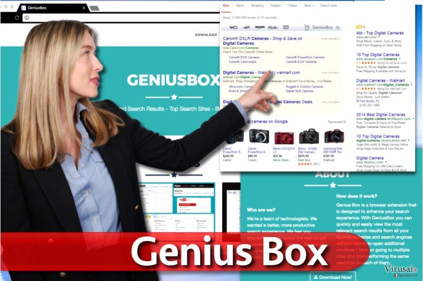 Genius Box ekrano nuotrauka