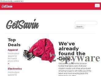 GetSavin ekrano nuotrauka