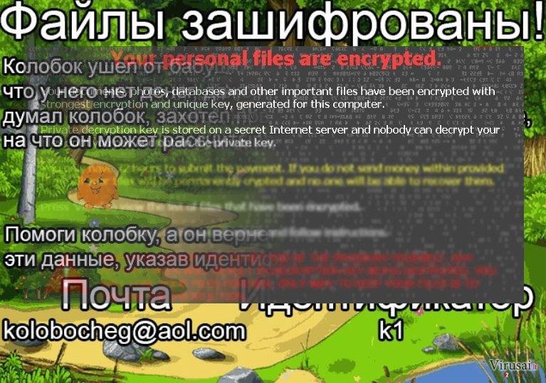 Gingerbread virusas užkoduoja failus ir reikalauja išpirkos