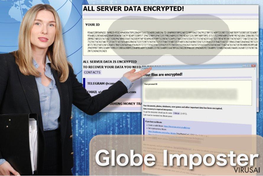 Globe Imposter virusas