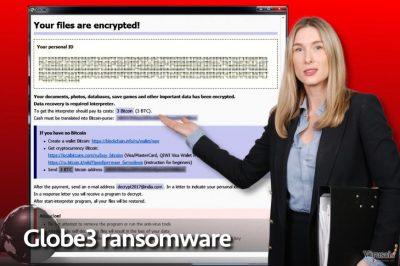 Globe3 ransomware virus