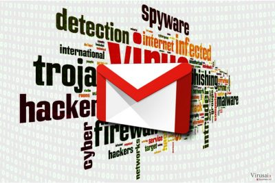 Gmail virusas
