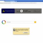 Google redirect ekrano nuotrauka