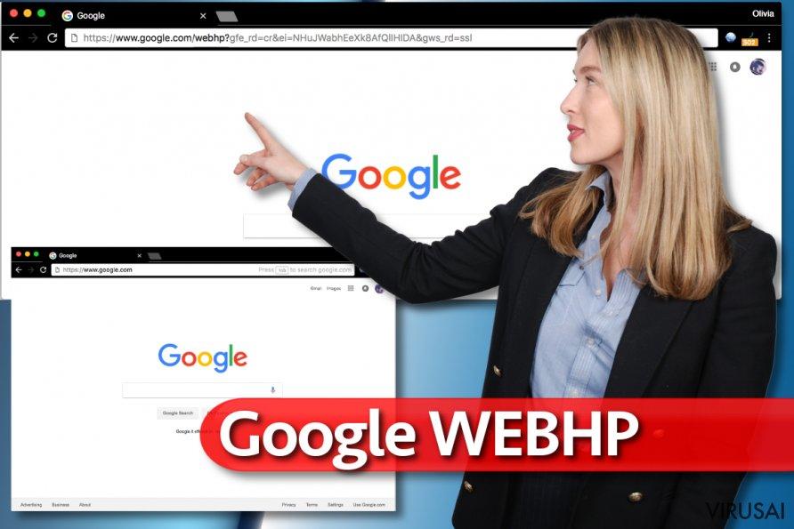 Google WebHP virusas