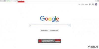 Google WebHP virus