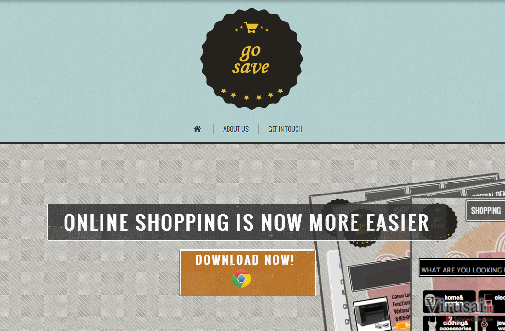 GoSaveNow reklamos ekrano nuotrauka