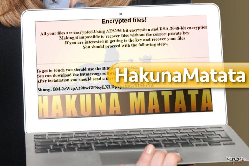 HakunaMatata virusas