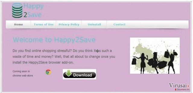 Happy2Save ekrano nuotrauka
