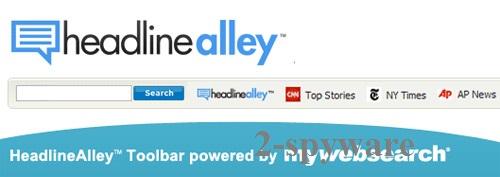 HeadlineAlley Toolbar ekrano nuotrauka