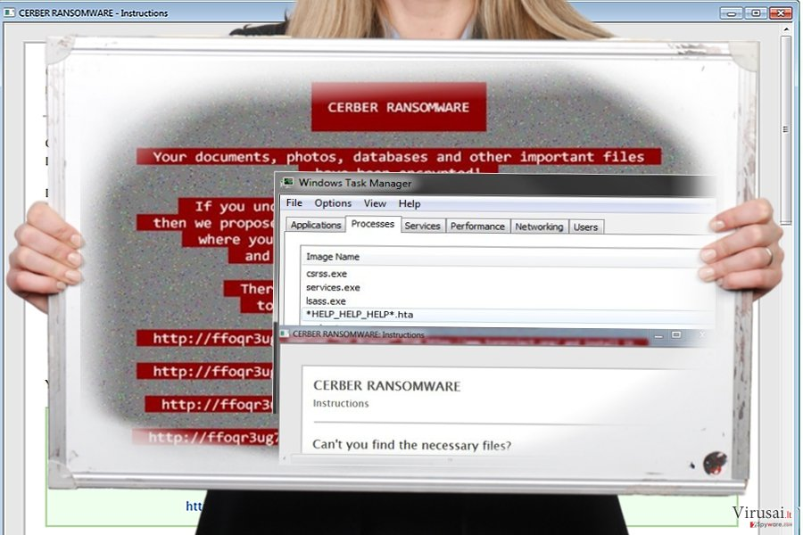 Help_help_help virusas ekrano nuotrauka