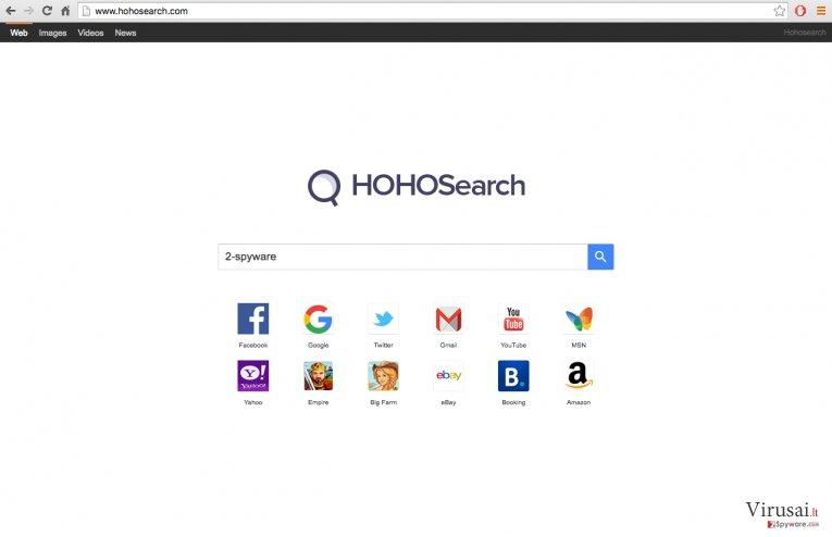 Hoho Search virus