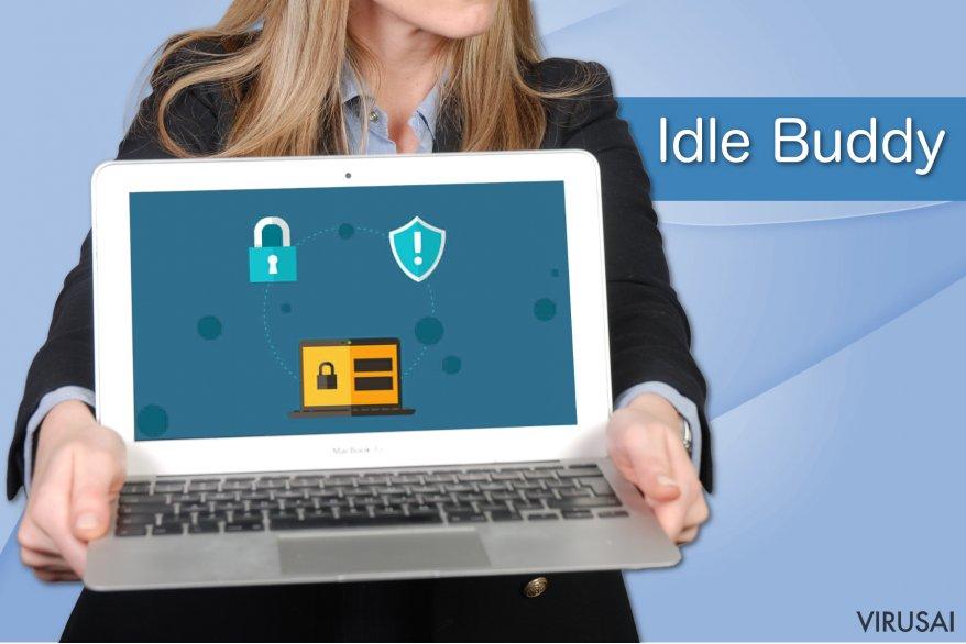 Idle Buddy viruso pavyzdys