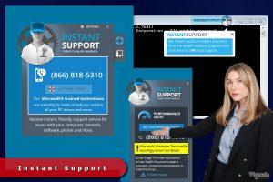 Instant Support reklamos