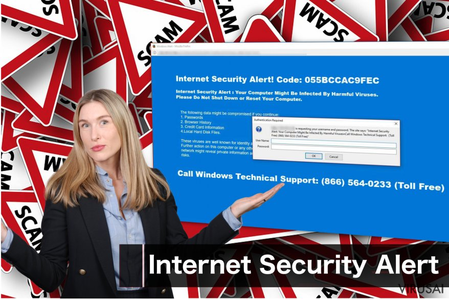 """Internet Security Alert"" virus"