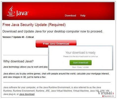Jsd.pathjava.net reklamos ekrano nuotrauka