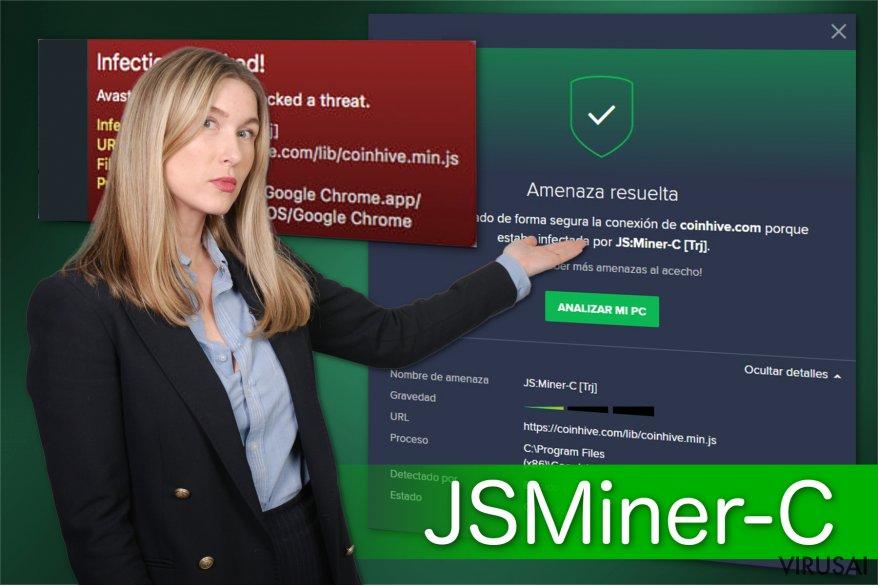JS:Miner-c virusas