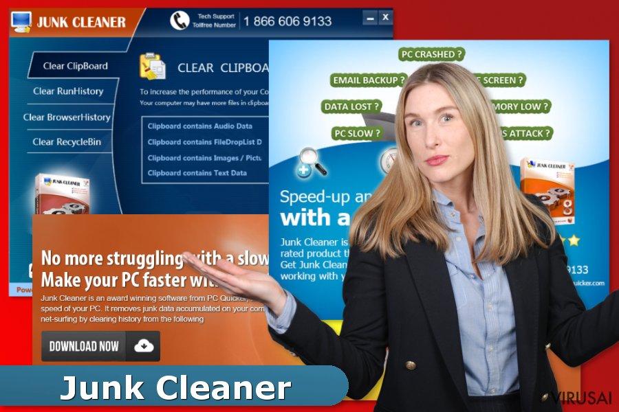 Junk Cleaner ekrano nuotrauka