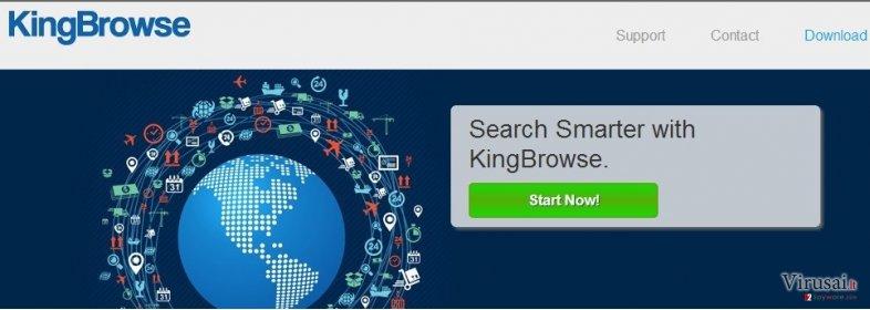KingBrowse ekrano nuotrauka