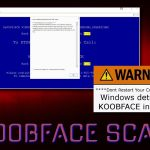 Koobface ekrano nuotrauka