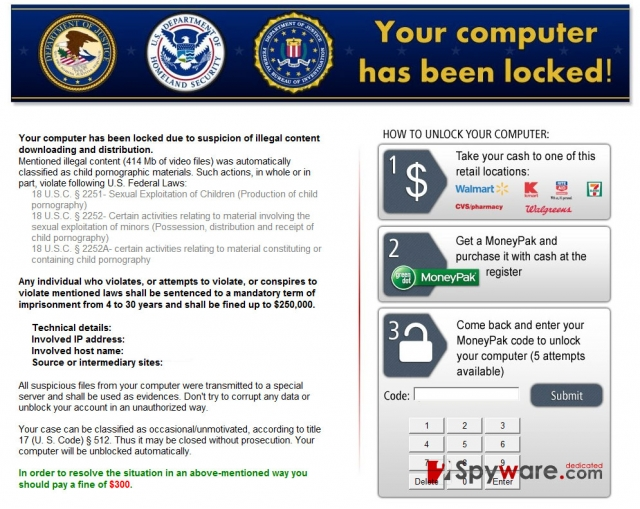 Kovter virusas ekrano nuotrauka