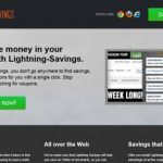 Lightning Savings virusas ekrano nuotrauka