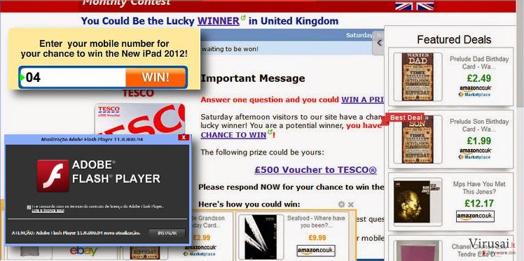Liveadexchanger.com reklamos ekrano nuotrauka