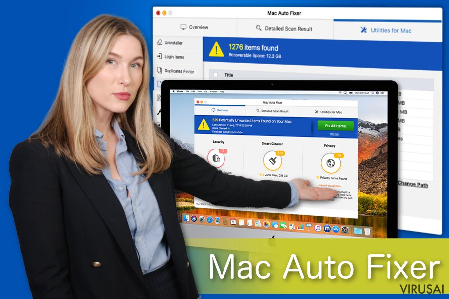 Mac Auto Fixer nepageidaujama aplikacija