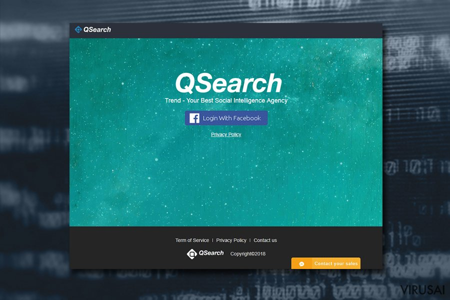 QSearch virusas