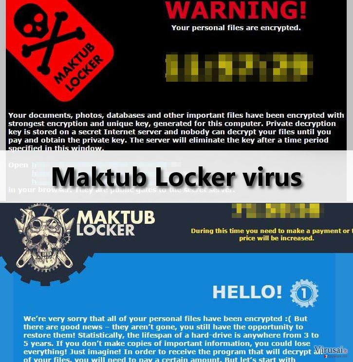 Maktub Locker virus