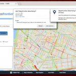 Maps Frontier ekrano nuotrauka