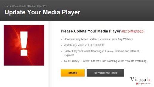 MediaPlayersvideos 1.1 pranešimai ekrano nuotrauka