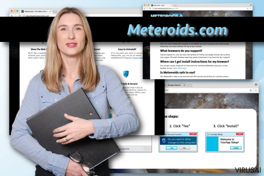 Meteoroids virusas