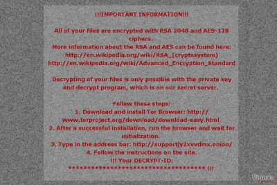 Mole02 ransomware virus