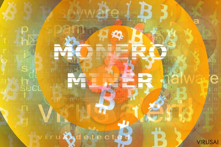 Monero Miner virusas
